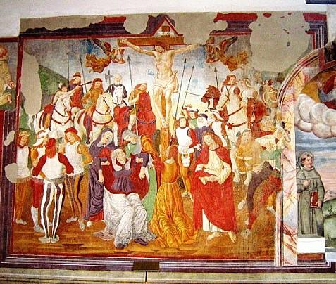 Crocifissione in ambito di Saturnino Gatti