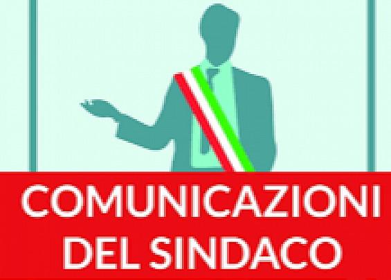 COMUNICATO DEL SINDACO 26-02