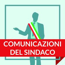 COMUNICATO DEL SINDACO 27-02