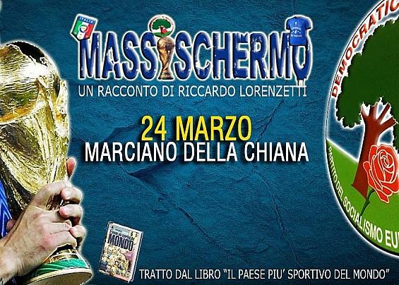 """""""MASSISCHERMO"""": POLIZIANI E STORELLI A MARCIANO DELLA CHIANA"""