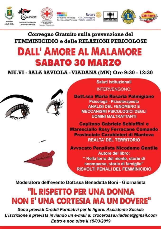 30/03/2019 - DALL AMORE AL MALAMORE