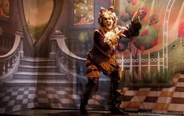 """02/04/2019 - Stagione Teatrale Scuole - Spettacolo """"Il Gatto con gli stivali"""""""