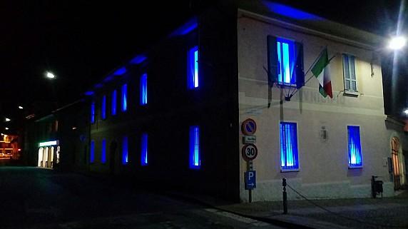 Sede comunale blu 2018