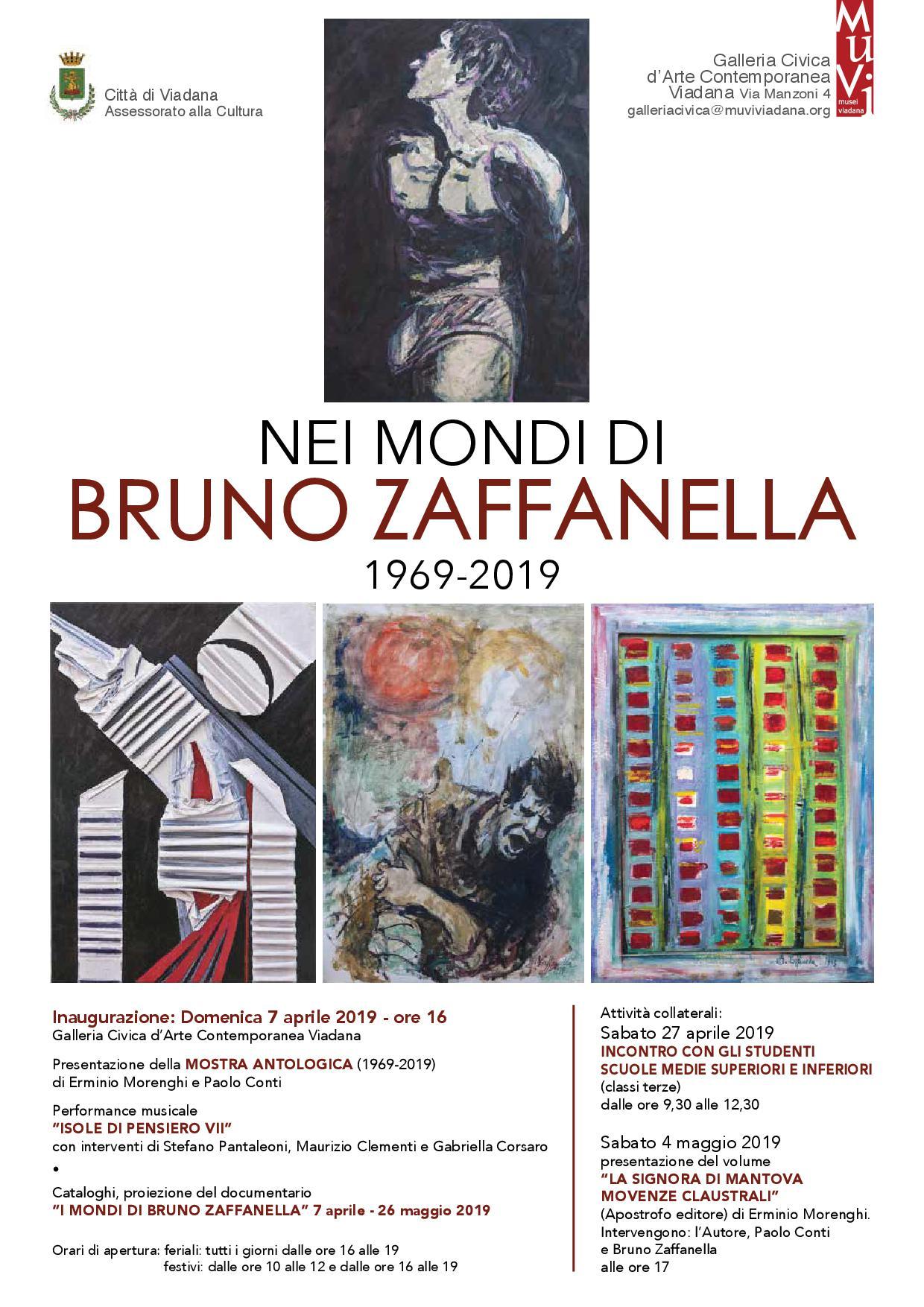 """02/04/2019 - Mostra """"Nel mondo di Bruno Zaffanella 1969-2019"""""""