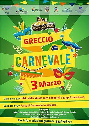 Carnevale greccio