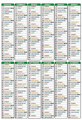 GRECCIO Calendario 2019