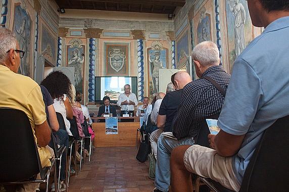 Museo Civico Archeologico_Sala delle Muse_conferenza